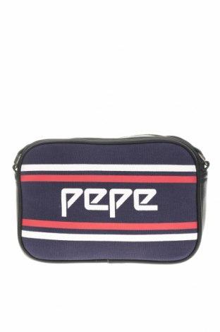 Geantă de femei Pepe Jeans, Culoare Multicolor, Textil, piele ecologică, Preț 110,53 Lei