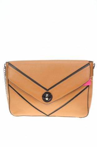 Дамска чанта Venca, Цвят Кафяв, Еко кожа, Цена 23,52лв.
