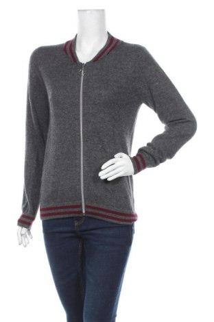 Дамска жилетка Authentic Cashmere, Размер M, Цвят Сив, Кашмир, Цена 85,05лв.