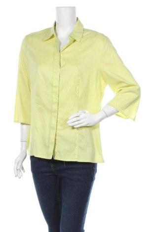 Дамска риза Betty Barclay, Размер L, Цвят Жълт, 63% памук, 37% полиестер, Цена 6,72лв.