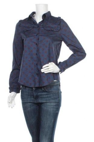 Γυναικείο πουκάμισο Dolores Promesas, Μέγεθος M, Χρώμα Μπλέ, 97% βαμβάκι, 3% ελαστάνη, Τιμή 53,74€