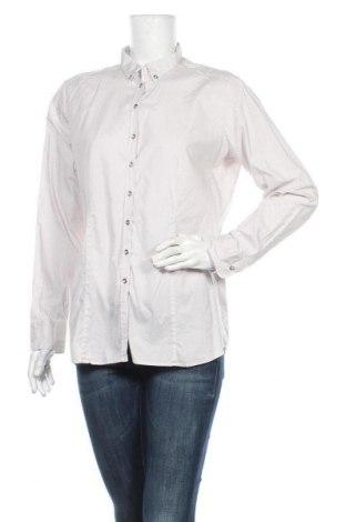Дамска риза Eterna, Размер L, Цвят Бежов, 96% памук, 4% еластан, Цена 15,17лв.