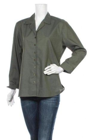 Дамска риза Eterna, Размер L, Цвят Зелен, Цена 14,18лв.