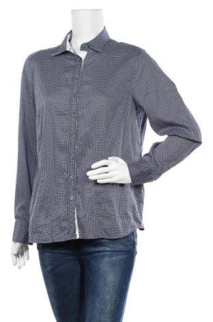 Дамска риза Eterna, Размер XL, Цвят Син, Памук, Цена 12,97лв.