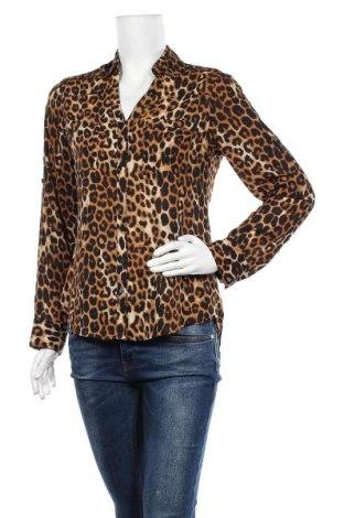 Дамска риза Express, Размер S, Цвят Многоцветен, Полиестер, Цена 13,23лв.
