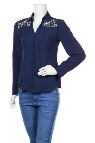 Дамска риза Express, Размер S, Цвят Син, Полиестер, Цена 15,96лв.