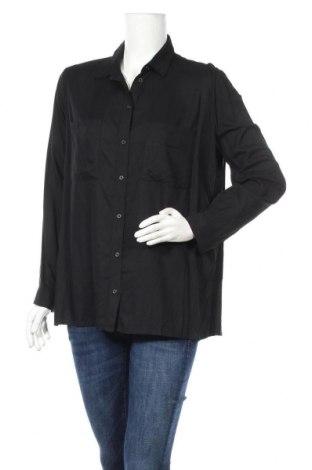 Γυναικείο πουκάμισο H&M Divided, Μέγεθος M, Χρώμα Μαύρο, Βισκόζη, Τιμή 11,69€