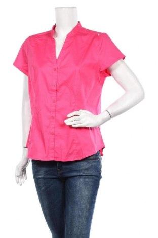 Дамска риза Hot Options, Размер XL, Цвят Розов, Памук, еластан, Цена 16,96лв.