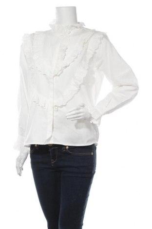 Γυναικείο πουκάμισο Intropia, Μέγεθος M, Χρώμα Λευκό, Βαμβάκι, Τιμή 53,74€
