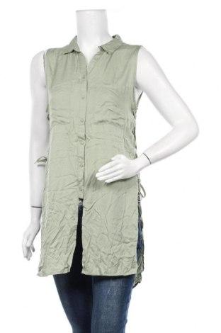 Дамска риза Jennifer Taylor, Размер M, Цвят Зелен, Вискоза, Цена 3,86лв.