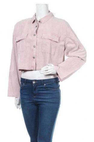 Дамска риза Native Youth, Размер L, Цвят Розов, Памук, Цена 16,03лв.
