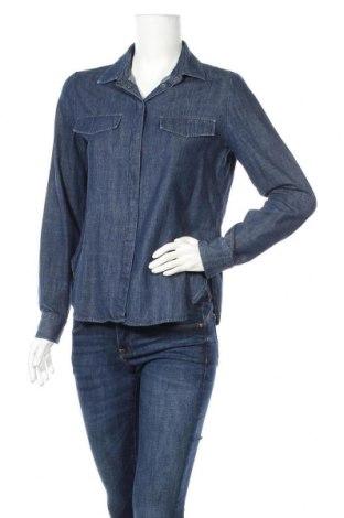 Дамска риза Someday., Размер S, Цвят Син, 100% памук, Цена 4,73лв.
