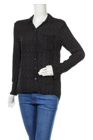 Дамска риза Someday., Размер M, Цвят Черен, 100% вискоза, Цена 14,18лв.