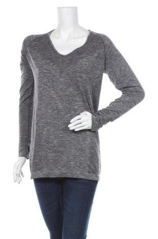 Дамска спортна блуза Active By Tchibo, Размер M, Цвят Сив, 66% полиамид, 34% полиестер, Цена 15,12лв.