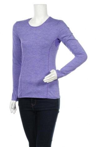 Дамска спортна блуза Active By Tchibo, Размер S, Цвят Лилав, 88% полиестер, 12% еластан, Цена 15,96лв.