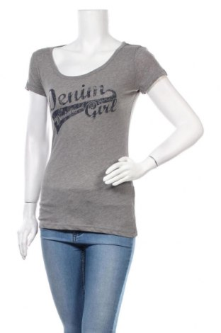 Дамска тениска Tom Tailor, Размер S, Цвят Сив, 65% полиестер, 35% памук, Цена 10,50лв.