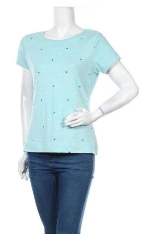 Дамска тениска Zero, Размер M, Цвят Син, Памук, Цена 23,00лв.