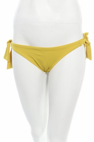 Costum de baie de damă Oysho, Mărime S, Culoare Galben, 82% poliamidă, 18% elastan, Preț 96,22 Lei