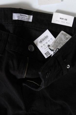 Дамски дънки Bershka, Размер S, Цвят Черен, Памук, Цена 44,25лв.