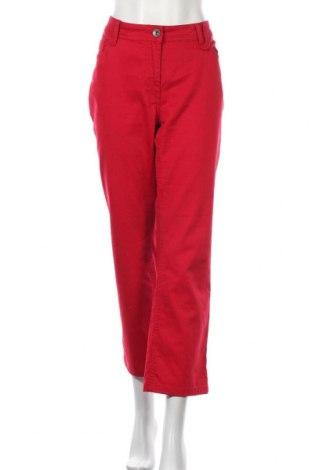 Dámské džíny  Cecil, Velikost XL, Barva Červená, 98% bavlna, 2% elastan, Cena  409,00Kč