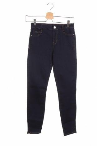 Дамски дънки Lefties, Размер XS, Цвят Син, 67% памук, 24% полиестер, 8% вискоза, 1% еластан, Цена 7,69лв.