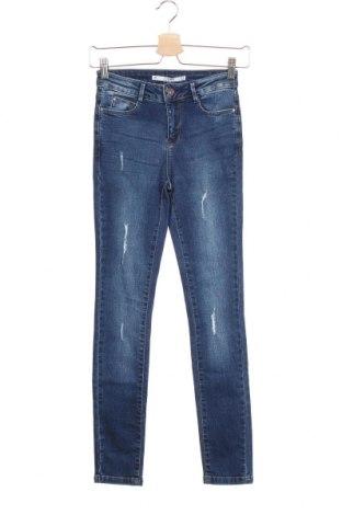 Дамски дънки Lft, Размер XS, Цвят Син, 99% памук, 1% еластан, Цена 15,84лв.