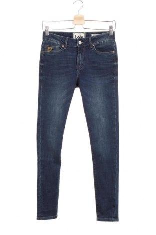 Дамски дънки Lois, Размер S, Цвят Син, 98% памук, 2% еластан, Цена 27,37лв.