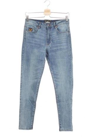 Дамски дънки Lois, Размер S, Цвят Син, 92% памук, 6% полиестер, 2% еластан, Цена 35,97лв.