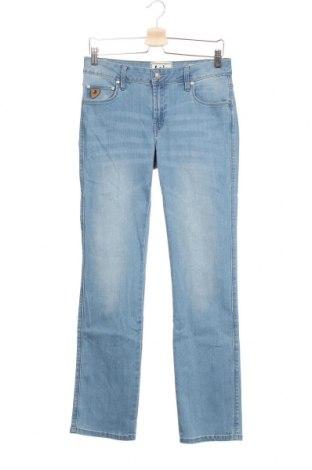 Дамски дънки Lois, Размер S, Цвят Син, 78% памук, 20% полиестер, 2% еластан, Цена 39,27лв.