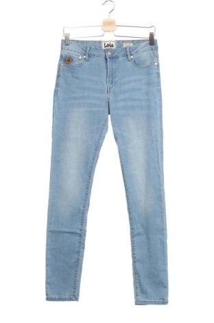 Дамски дънки Lois, Размер S, Цвят Син, 78% памук, 20% полиестер, 2% еластан, Цена 17,42лв.