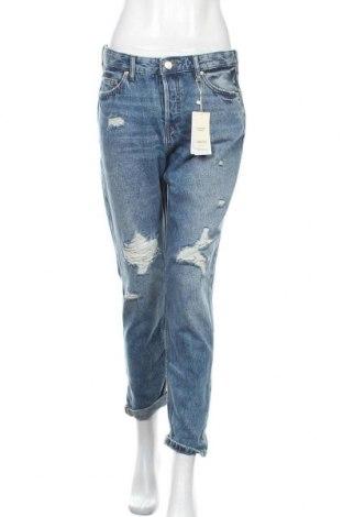 Γυναικείο Τζίν Mango, Μέγεθος M, Χρώμα Μπλέ, Βαμβάκι, Τιμή 26,68€