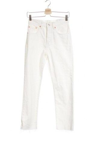 Γυναικείο Τζίν Mango, Μέγεθος XXS, Χρώμα Λευκό, Βαμβάκι, Τιμή 26,68€