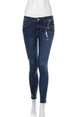 Γυναικείο Τζίν Zara, Μέγεθος M, Χρώμα Μπλέ, 98% βαμβάκι, 2% ελαστάνη, Τιμή 30,62€