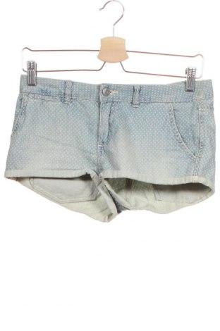 Γυναικείο κοντό παντελόνι H&M Divided, Μέγεθος XS, Χρώμα Μπλέ, Βαμβάκι, Τιμή 11,69€