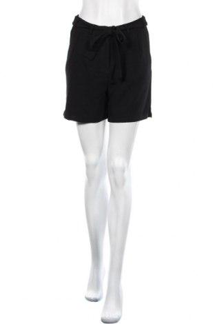 Дамски къс панталон Object, Размер S, Цвят Черен, Полиестер, Цена 17,01лв.