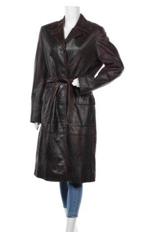 Dámský kožený přechodný kabát  Mauritius, Velikost L, Barva Hnědá, Pravá kůže, Cena  1289,00Kč