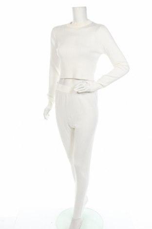 Дамски комплект Missguided, Размер L, Цвят Бял, 70% вискоза, 30% полиамид, Цена 25,48лв.