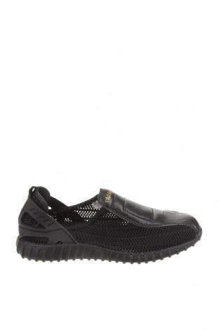 Дамски обувки, Размер 37, Цвят Черен, Текстил, еко кожа, Цена 26,88лв.