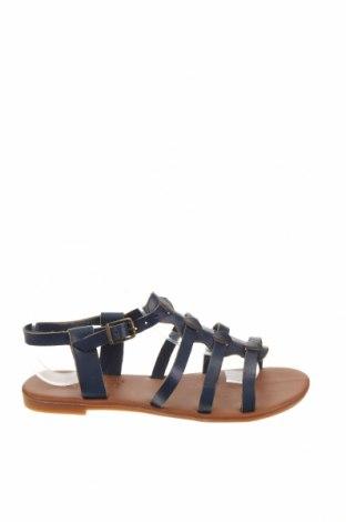 Дамски обувки, Размер 39, Цвят Син, Еко кожа, Цена 24,36лв.