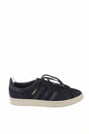Дамски обувки Adidas Originals, Размер 38, Цвят Син, Естествен велур, Цена 40,16лв.