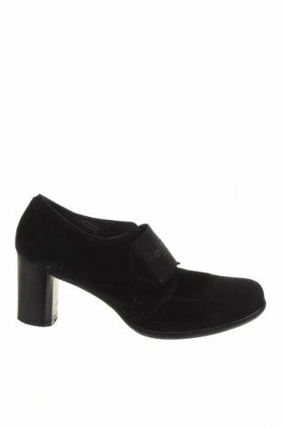 Дамски обувки Baldinini, Размер 37, Цвят Черен, Естествен велур, Цена 85,84лв.