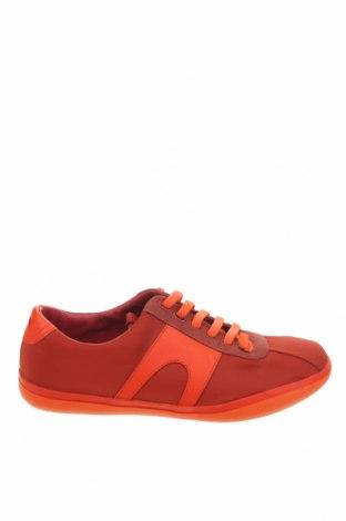 Γυναικεία παπούτσια Camper, Μέγεθος 41, Χρώμα Κόκκινο, Κλωστοϋφαντουργικά προϊόντα, γνήσιο δέρμα, φυσικό σουέτ, Τιμή 88,53€