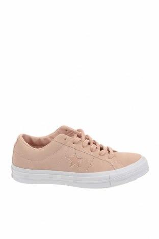 Γυναικεία παπούτσια Converse, Μέγεθος 37, Χρώμα Ρόζ , Φυσικό σουέτ, Τιμή 28,66€