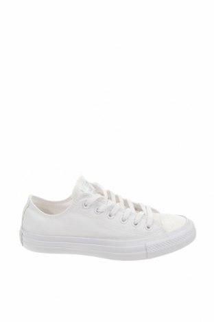 Γυναικεία παπούτσια Converse, Μέγεθος 39, Χρώμα Λευκό, Κλωστοϋφαντουργικά προϊόντα, Τιμή 46,01€