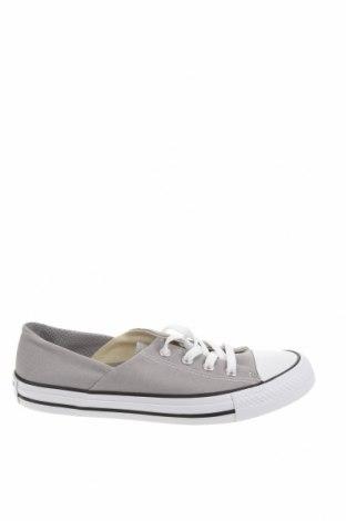 Γυναικεία παπούτσια Converse, Μέγεθος 37, Χρώμα Γκρί, Κλωστοϋφαντουργικά προϊόντα, Τιμή 19,79€