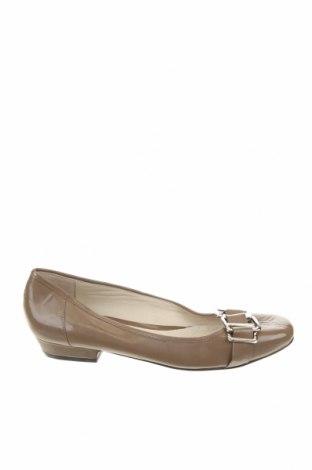Дамски обувки David Lawrence, Размер 37, Цвят Бежов, Еко кожа, Цена 35,28лв.