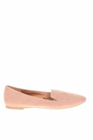 Дамски обувки H&M, Размер 40, Цвят Розов, Текстил, Цена 23,52лв.