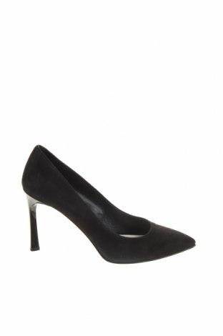 Încălțăminte de damă Hugo Boss, Mărime 39, Culoare Negru, Velur natural, Preț 243,16 Lei