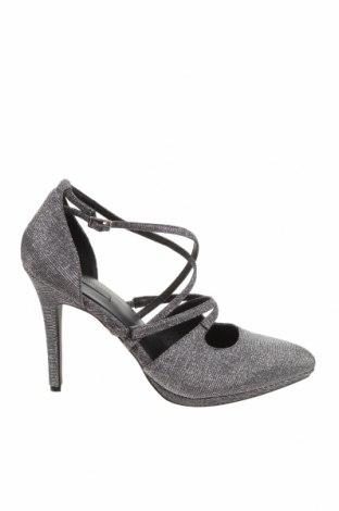 Дамски обувки Kiomi, Размер 42, Цвят Сребрист, Текстил, Цена 35,55лв.