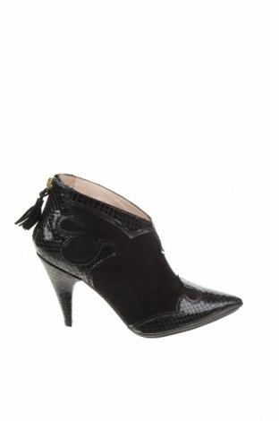 Dámské boty  Lodi, Velikost 39, Barva Černá, Přírodní velur , pravá kůže, Cena  1015,00Kč